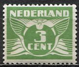 Netherlands; 1925: Sc. # 145: */MH Single Stamp