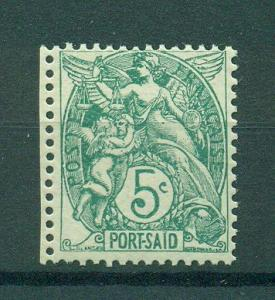 French Offices in Egypt Port Said sc# 22 mnh cat val $2.10