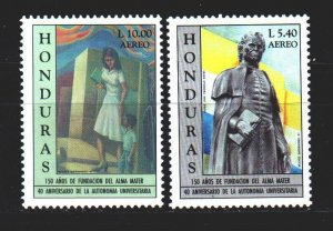 Honduras. 1997. 1346-47 from the series. 150 years to the national university...