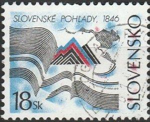 Slovakia, #247  Used , From 1996,  CV-$1.00