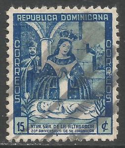 DOMINICAN REPUBLIC 398 VFU P189-2