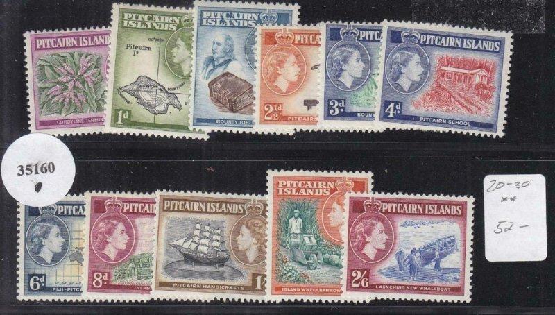 Pitcairn Islands: Sc #20-30, MNH (35160)