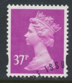 Great Britain SG Y1703 Sc# MH225    Used with first day cancel - Machin 37p