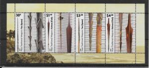 NIUE 2015 TRADITIONAL WEAPONS M/S MNH