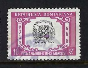 DOMINICAN REPUBLIC G38 VFU Q18-2