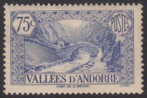 French Andorra 45 MH CV $5.00