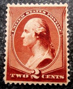 US Scott #210 Reissue Banknote, Mint NH/OG & VF, CV = $140