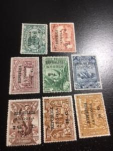 Angola sc 192-199 MHR comp set