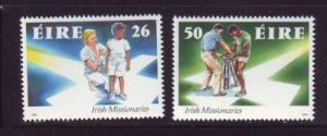 Ireland Sc 808-9 1990 Missionaries stamps mint NH