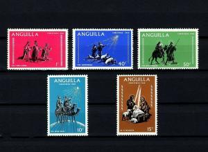 ANGUILLA - 1968 - CHRISTMAS - NATIVITY - HOLY FAMILY - KINGS + MINT NH SET!