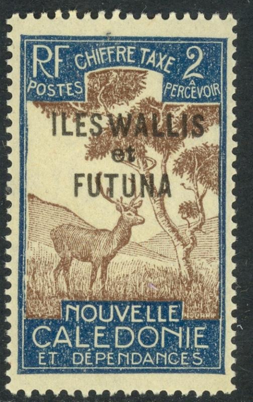 WALLIS AND FUTUNA ISLANDS 1930 2c Postage Due Scott No. J11 MLH