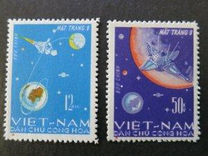 Vietnam 1966 MNH Stamps Scott 429-430 Space Luna Moon