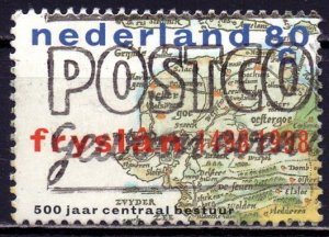 Netherlands. 1998. 1660. 500 years of the administration of Friesland. USED.