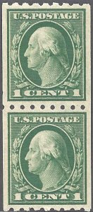 410 Mint,OG,NH... Pair... SCV $32.50... XF