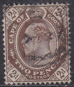 Cape of Good Hope 65 King Edward VII 1904
