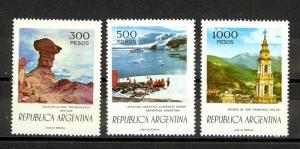 Argentina Scott 1108-1110 Mint NH (Catalog Value $24.50)