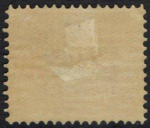 WESTERN AUSTRALIA 1902 SWAN 4D WMK V/CROWN PERF 12.5