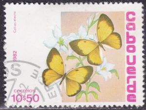 Cape Verde 460 Used 1982 Coilas Electo, Butterfly