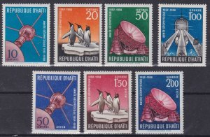 1958 Haiti 493-499 Satellite Vanguard 1 9,00 €
