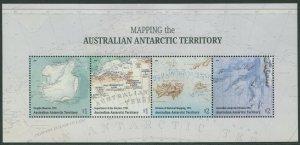 MAPPING THE AUSTRALIAN ANTARCTIC TERRITORY 2019 - MNH MINISHEET (G121)