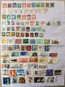 German 100+ stamps - Lot 1
