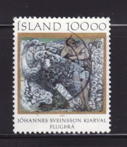 Iceland 615 Set U Art, Yearning to Fly by Johannes S Kjarval