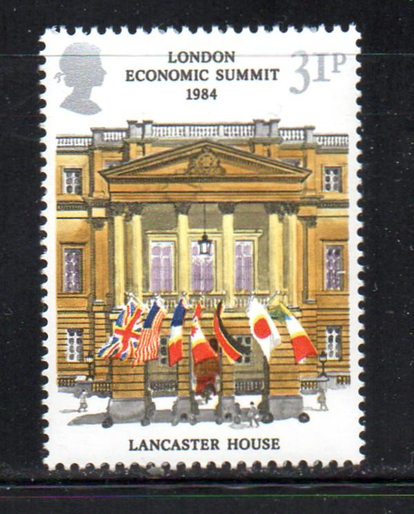 Great Britain Sc 1057 1984 Economic Summit stamp mint NH