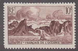 French Polynesia 160 Coast of Moorea 1948