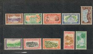 Cook Islands Sc#131-140 M/NH/VF, Cv. $46.40