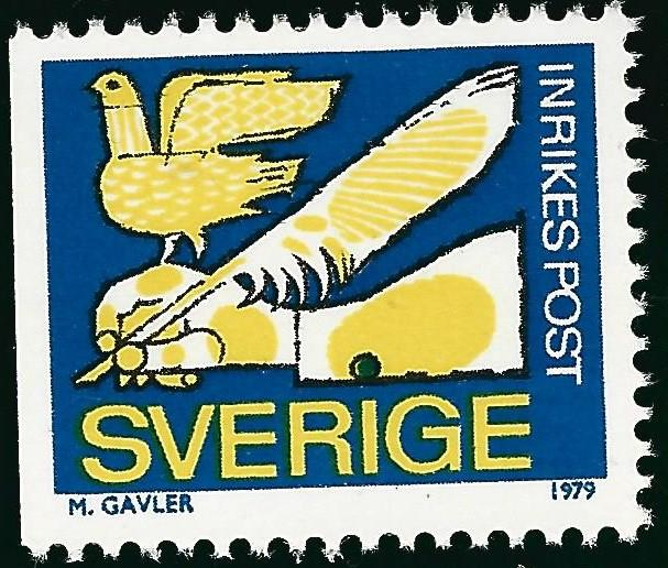 Sweden Vibrant & Attractive Sc #1277 Mint NH VF