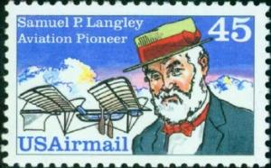 C118 Samuel P Langley F-VF MNH single