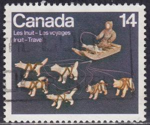 Canada 772 USED 1978 Inuit Indian Travel, Art 14¢