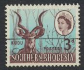 Southern Rhodesia  SG 95 SC# 98   Used   Kudu