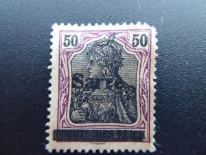 Germany  Saar 1920  Sc.#13