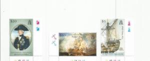 SOLOMON ISLANDS 2005 SHIPS SCOTT 1032-4 MNH SCV $17