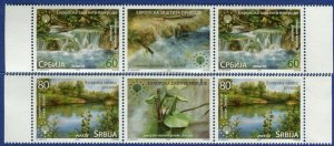1628 - SERBIA 2021 - European Nature Protection - MNH Middle Row