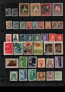 Russia  39  diff  used and mint   lot collection
