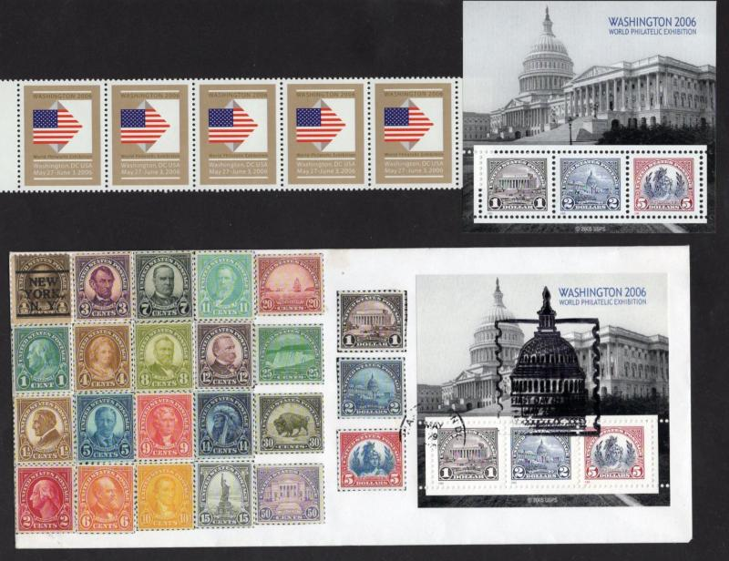 World Philatelic Show Stuff - 2006 - Washington D.C.
