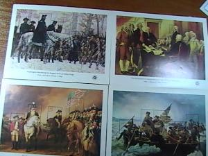 U.S.# 1686-1689-MNH---COMPLETE SET  SOUVENIR SHEETS--AMERICAN BICENTENNIAL--1976