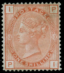 SG151, 1s orange-brown plate 13, LH MINT. Cat £4750. PI