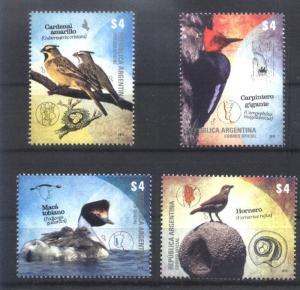 ARGENTINA 2013, FAUNA BIRDS YV 2992-5 MNH