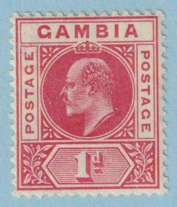 GAMBIA 42a  MINT HINGED OG * NO FAULTS EXTRA FINE !