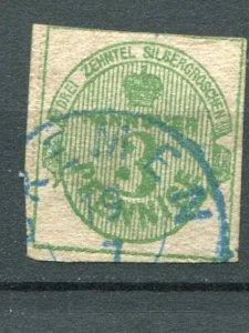 Hannover #17 used  Cat $950 -   Lakeshore Philatelics