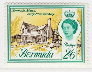 British Colony Bermuda 1962 2.6s MH* Stamp Historical Buildings A22P18F8930
