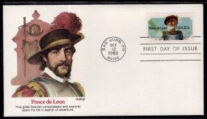 US 2024 Ponce de Leon Fleetwood U/A FDC