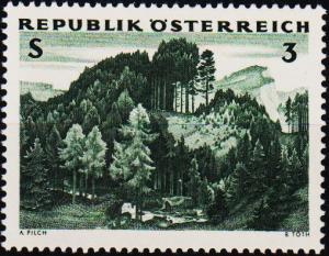 Austria. 1962 3s S.G.1391 Unmounted Mint