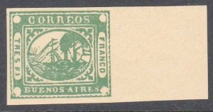 ARGENTINA  An old forgery of a classic stamp................................C970