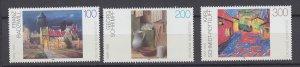 J29729, 1995 germany set mnh #1878-80 art