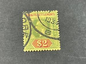 STRAITS SETTLEMENTS # 200--USED----SINGLE----1921-32