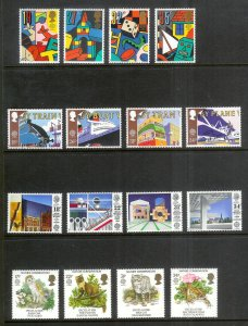 GREAT BRITAIN Europa (66) All Mint Unused Stamps Most Lightly Hinged